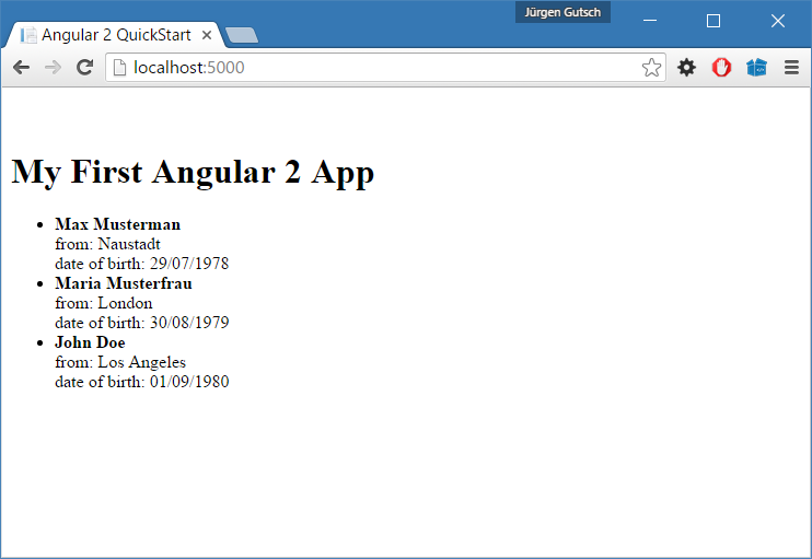 ASP  NET Core and Angular2 using dotnet CLI and Visual
