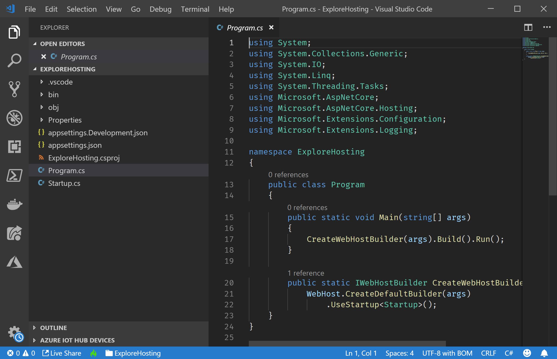 Project in VS Code