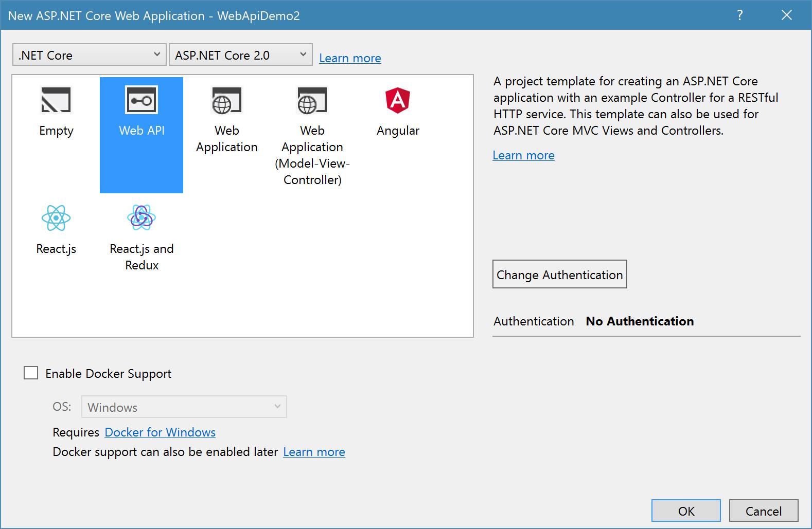 Unit Testing an ASP  NET Core Application